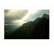 Alpine Morning - Seoraksan National Park, South Korea Art Print