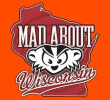 Mad About Wisconsin Kids Tee