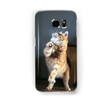 Dancing cat Samsung Galaxy Case/Skin