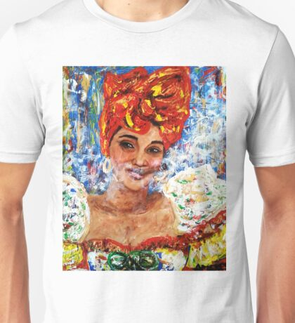 The lady from old Havana 3 Unisex T-Shirt