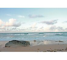 Rock on the Shore Photographic Print