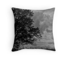 Ominous Stormfront Throw Pillow
