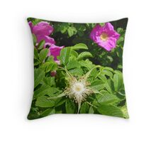 After the Petals are Gone Throw Pillow