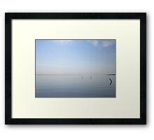 Lake Huron Morning Framed Print