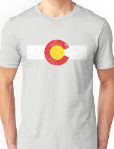 Vintage Colorado Flag Unisex T-Shirt