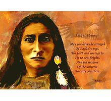 Sacred Eagle Photographic Print