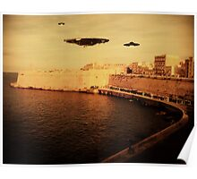 UFO Sighting by Raphael Terra Poster