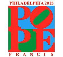 Love Park Pope Photographic Print