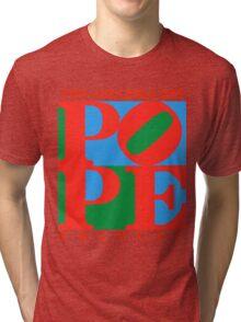 Love Park Pope Tri-blend T-Shirt