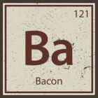 Vintage Bacon Periodic Table Element by colorhouse