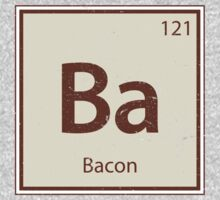Vintage Bacon Periodic Table Element One Piece - Long Sleeve