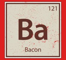 Vintage Bacon Periodic Table Element Kids Clothes