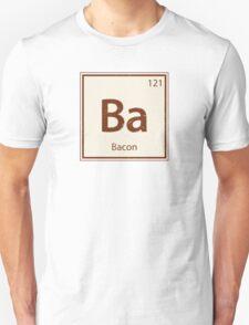 Vintage Bacon Periodic Table Element Unisex T-Shirt
