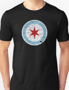 Vintage Chicago Star Unisex T-Shirt