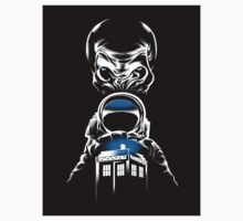 Doctor Who - Impossible Astronaut - STICKER by Vincent Carrozza