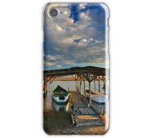 Boat parking iPhone Case/Skin