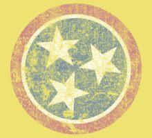 Vintage Tennessee Stars One Piece - Short Sleeve