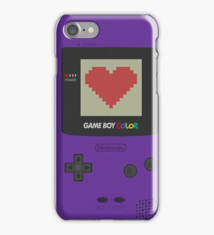 GAME BOY COLOR <3 iPhone Case/Skin