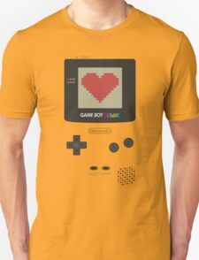 GAME BOY COLOR <3 T-Shirt