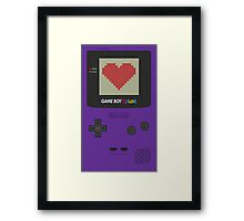 GAME BOY COLOR <3 Framed Print