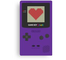 GAME BOY COLOR <3 Canvas Print