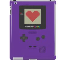 GAME BOY COLOR <3 iPad Case/Skin