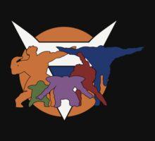 Ginyu Force Pose and Logo (Dragonball Z) Kids Tee