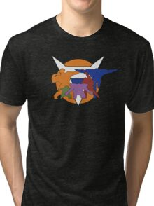 Ginyu Force Pose and Logo (Dragonball Z) Tri-blend T-Shirt
