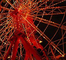 Luna Park Ferris Wheel by kelliejane