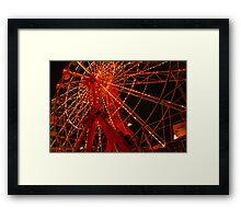 Luna Park Ferris Wheel Framed Print
