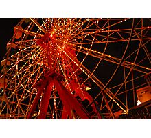 Luna Park Ferris Wheel Photographic Print