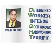 Dwight Schrute Poster