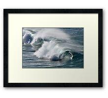 Rolling Surf - SE Qld Australia Framed Print