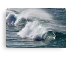 Rolling Surf - SE Qld Australia Canvas Print