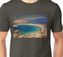 Perfect natural semicircle - Voidokoilia beach Unisex T-Shirt