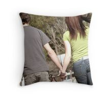 Hold On. Throw Pillow
