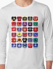 8-Bit Hockey Jerseys '16 Long Sleeve T-Shirt