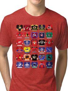 8-Bit Hockey Jerseys '16 Tri-blend T-Shirt