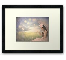 Upon us All  Framed Print
