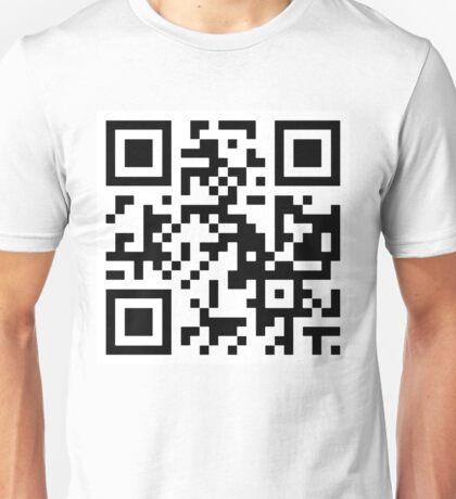 QR code - I'M SO HIP IT HURTS. Unisex T-Shirt