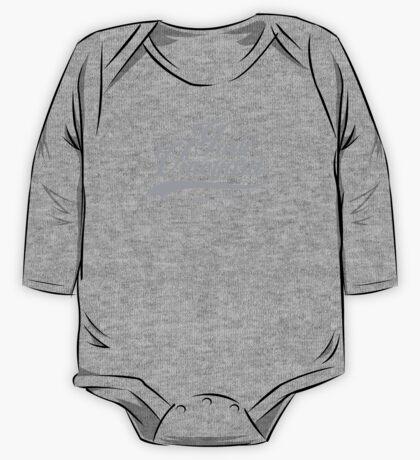 York Vineyard scripty - cool grey One Piece - Long Sleeve