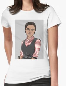 Rosa Parks - Nah Womens Fitted T-Shirt