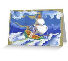 Acadian Voyage 1 Greeting Card
