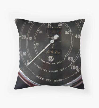 14475 ... miles Throw Pillow