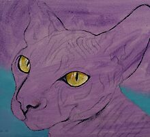Purple Sphynx by Michael Creese