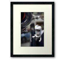 Clip Framed Print
