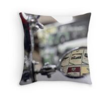 History reflected Throw Pillow