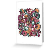Get in to the Groove Greeting Card