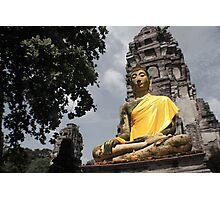 Buddha Statue Photographic Print