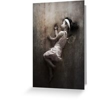 The Clockwork Ballerina Sleeps Greeting Card